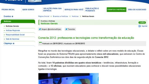 FIRJAN.ORG • Conecta 2012